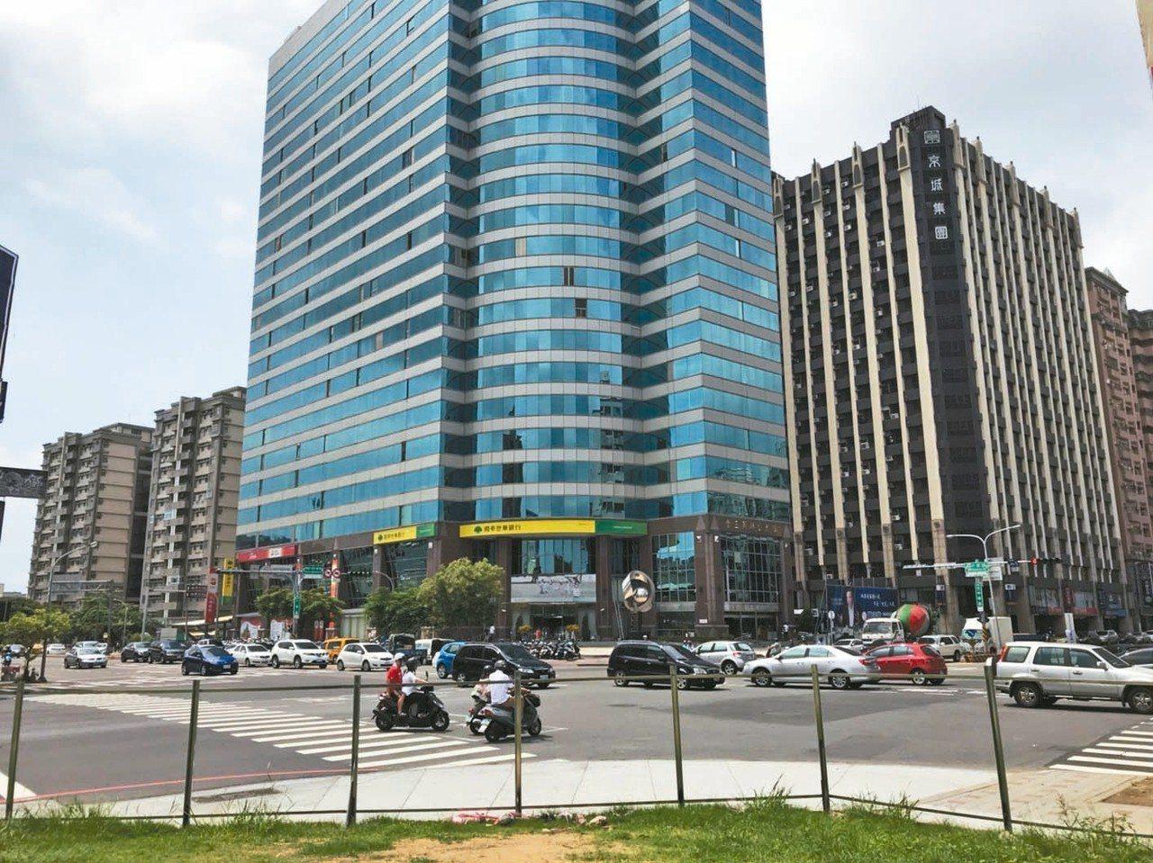 台南平實重畫區夢時代商圈。 台灣房屋/提供