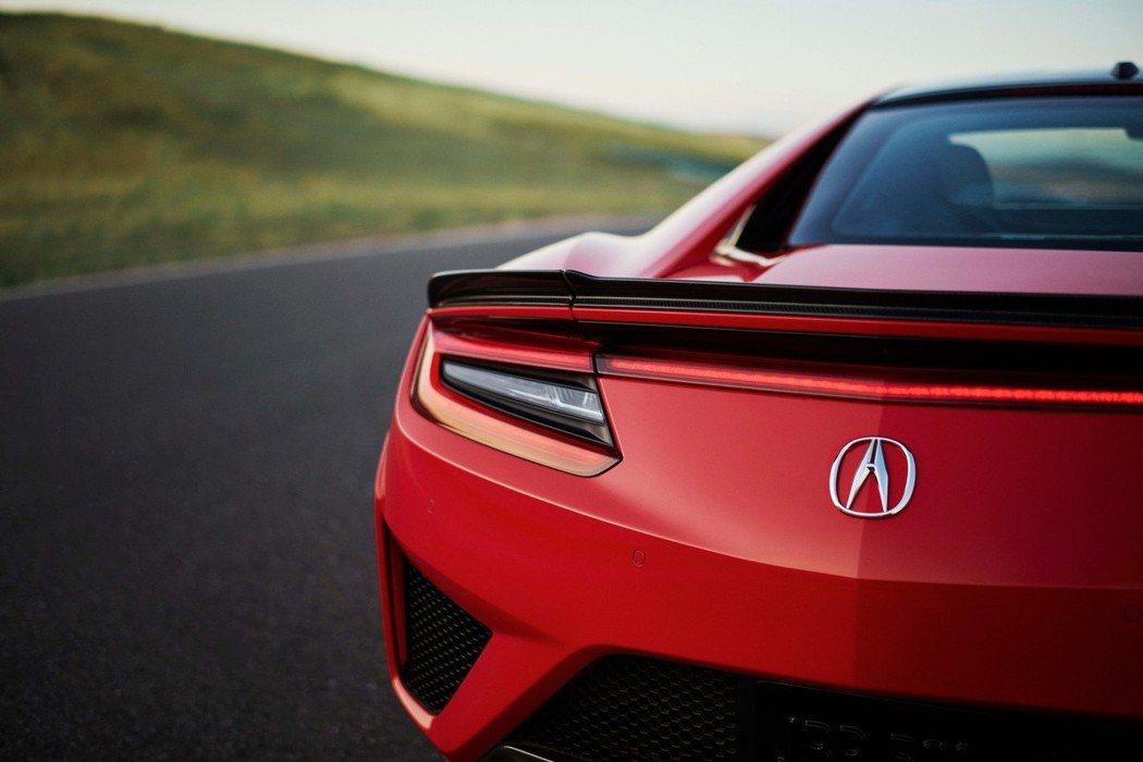 2019年式Honda/Acura NSX。 摘自Acura