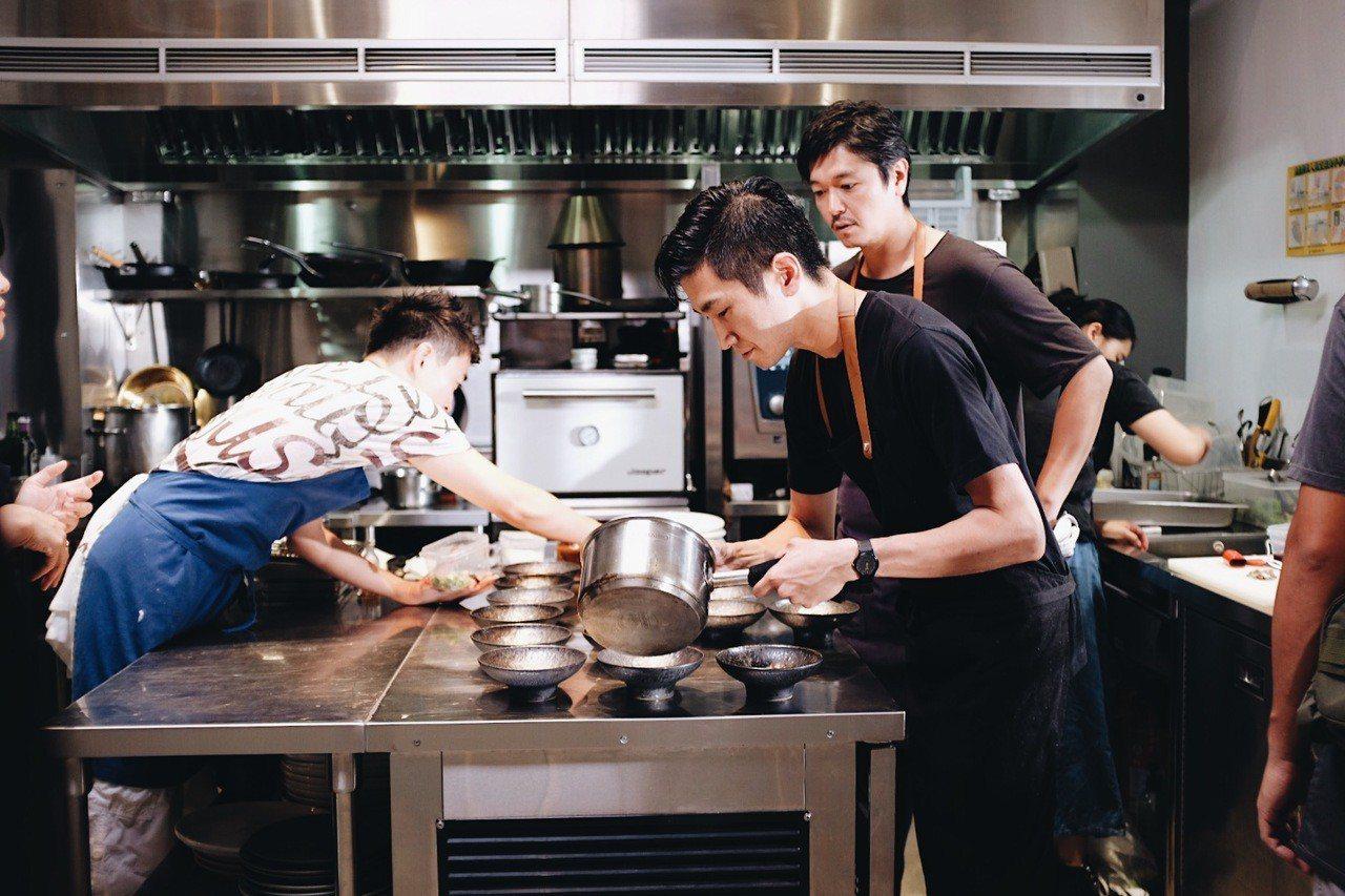 東京Florilege即將在台開設的新餐廳logy主廚田原諒悟。記者沈佩臻/攝影