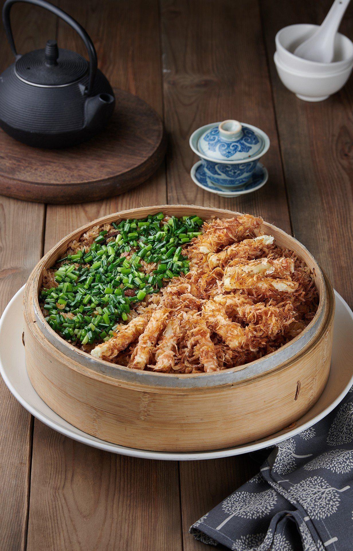 唐獎第三屆盛宴料理「留戀-櫻花蝦佐紅藜麥」。圖/唐獎教育基金會提供