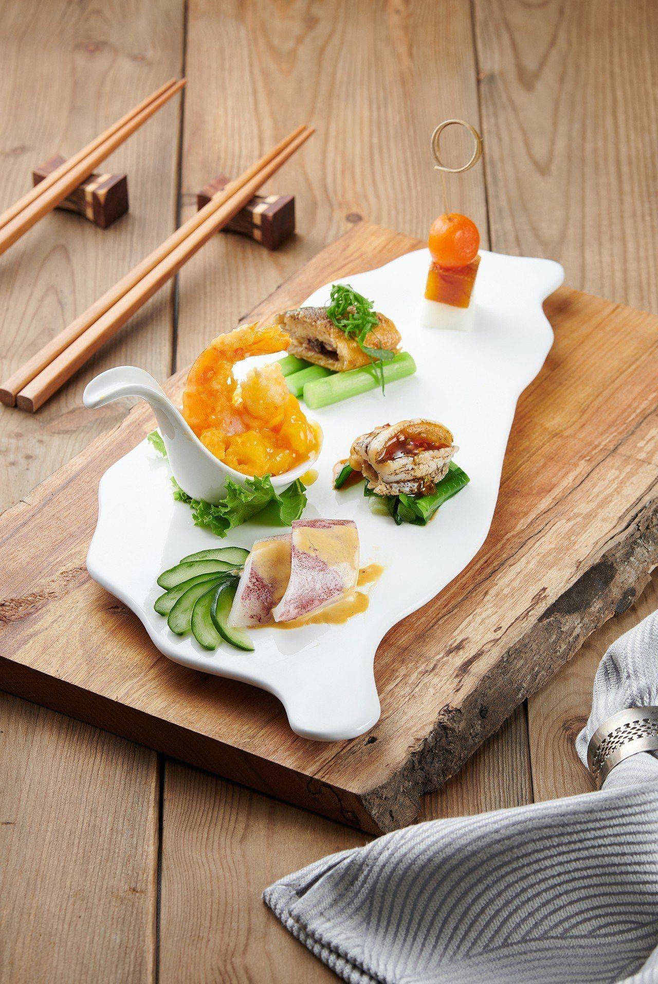 唐獎第三屆盛宴料理「歡迎-南北一家親」。圖/唐獎教育基金會提供