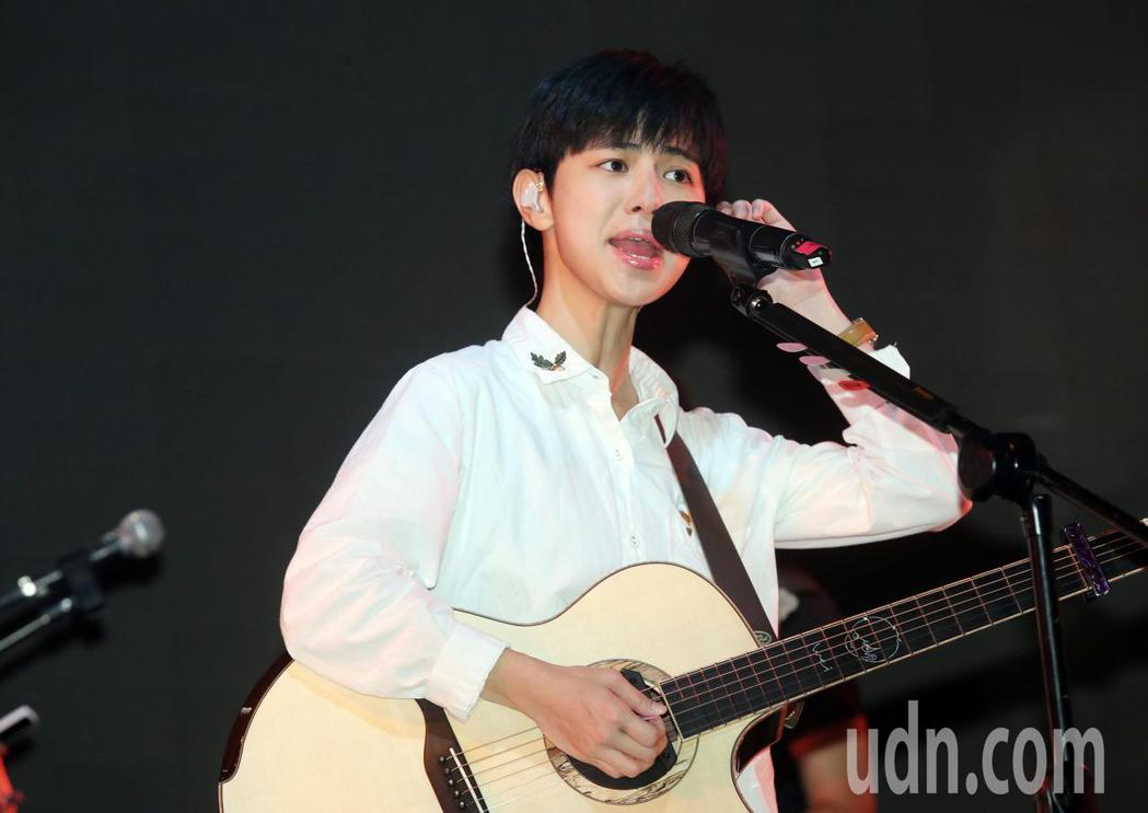 魏嘉瑩今晚將在華山legacy舉辦個人演唱會。記者徐兆玄/攝影