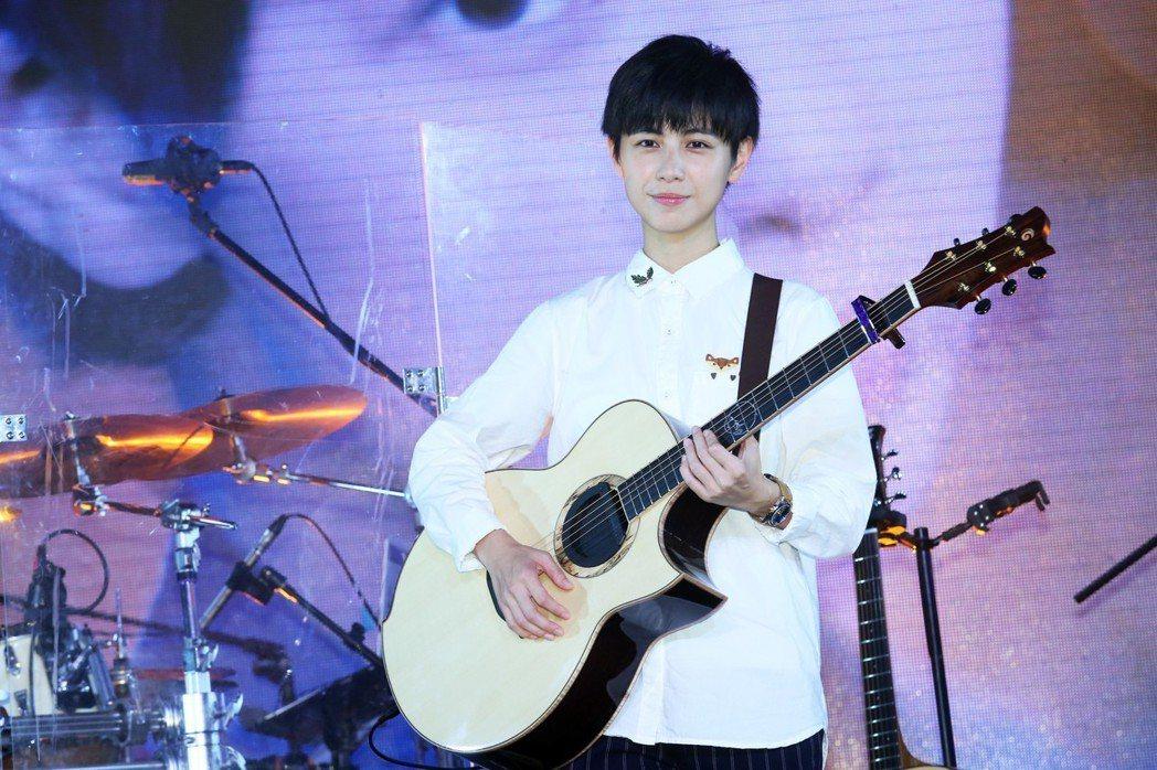 魏嘉瑩25日在華山Legacy舉辦首場個人演唱會。記者徐兆玄/攝影
