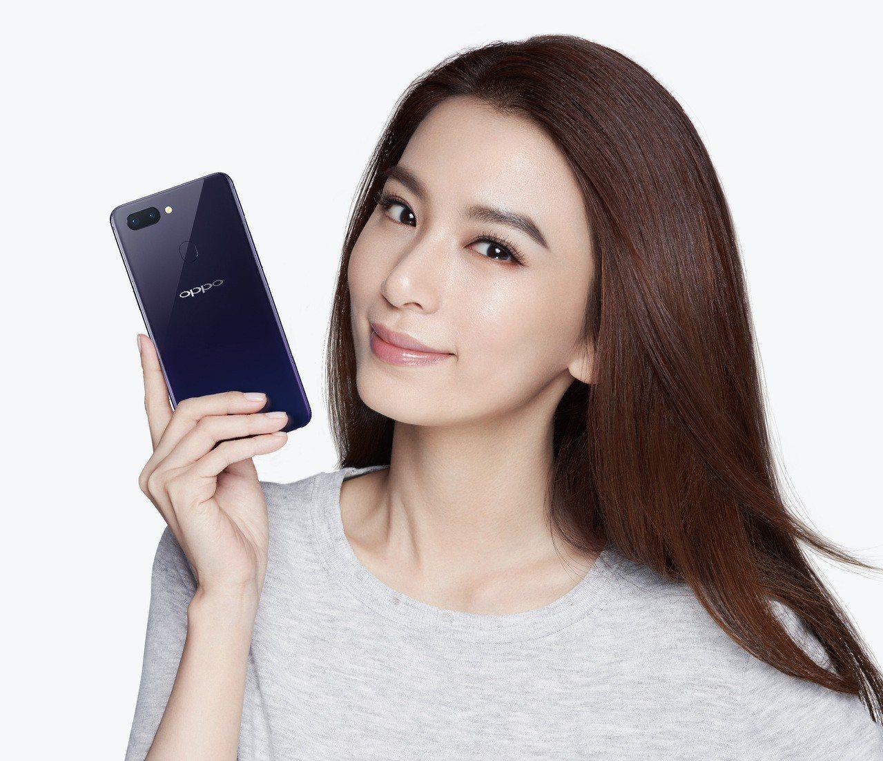 Hebe田馥甄擔任OPPO手機代言人。圖/OPPO提供