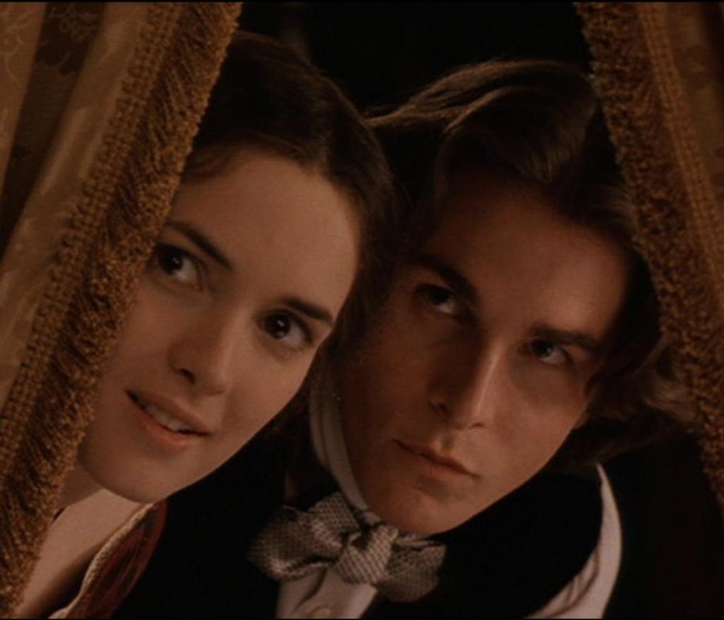 薇諾娜瑞德與克里斯汀貝爾在「新小婦人」對手戲至今仍令老影迷難忘。圖/摘自imdb