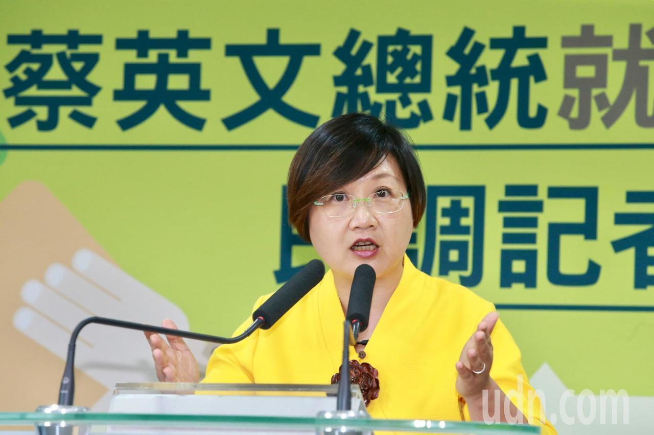 民進黨副秘書長徐佳青。聯合報系記者黃義書/攝影