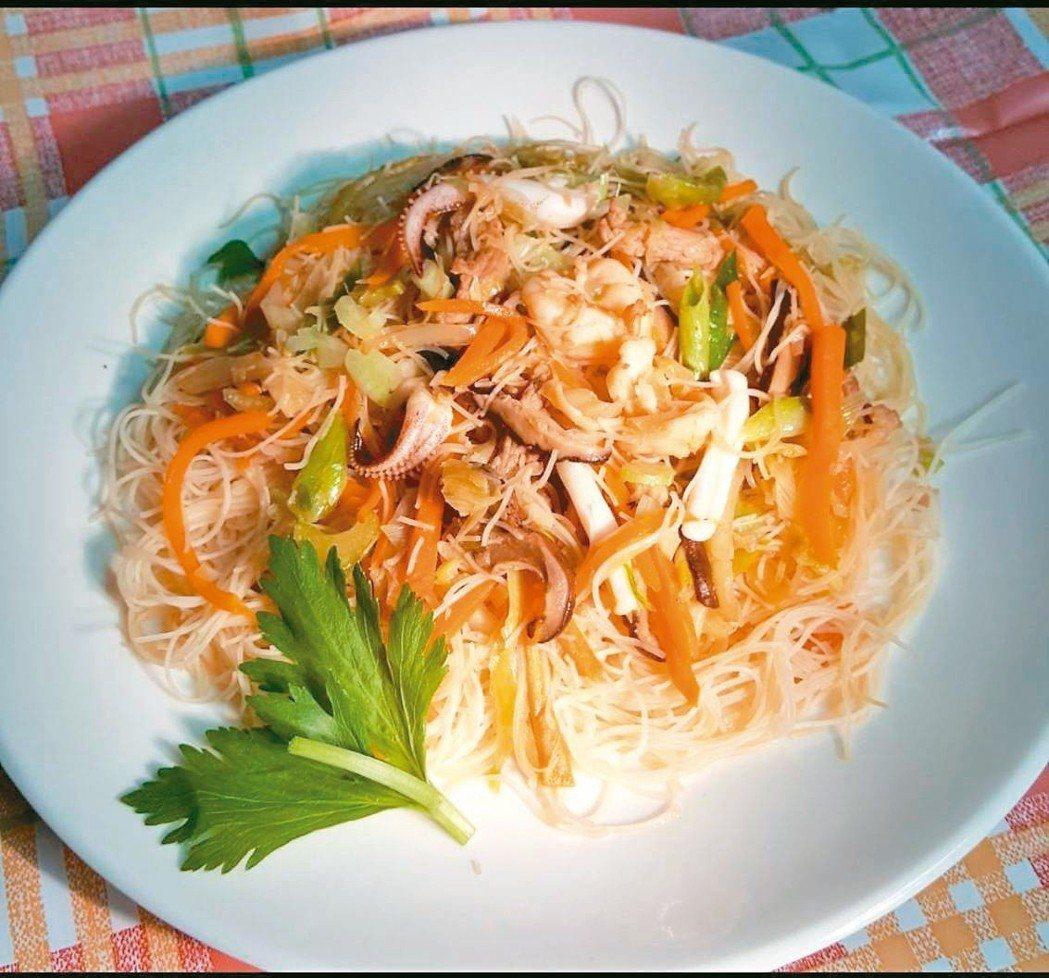 台式什錦炒米粉 圖/林芝蕙提供