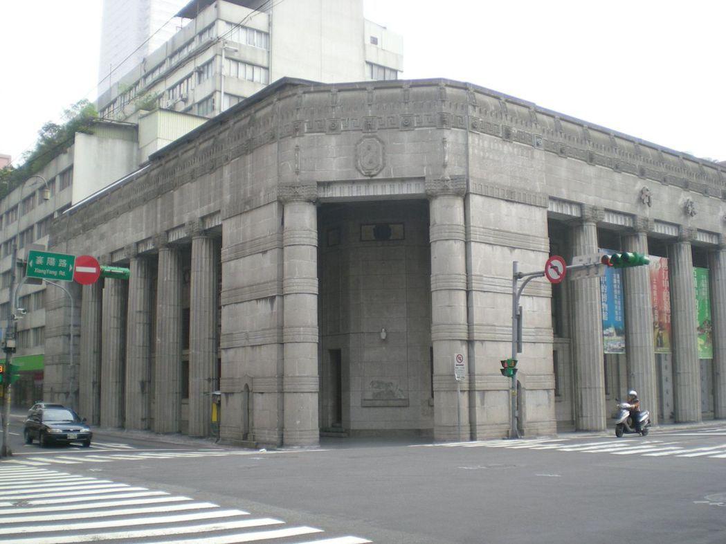 台灣博物館土銀展示館,是日據時期遺留下來的勸業銀行古蹟再利用。圖/土銀提供