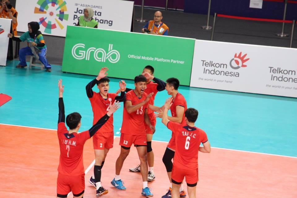 中華排球隊。 擷圖自亞運體大硬起來臉書