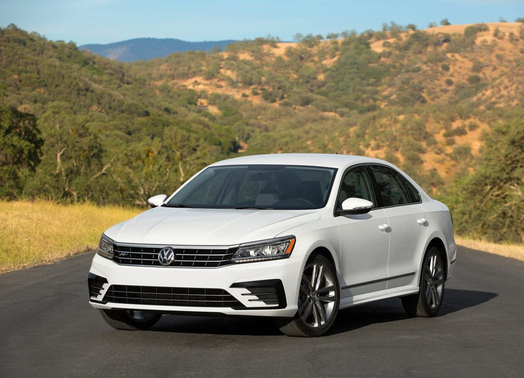 現行款VW Passat。 摘自Volkswagen