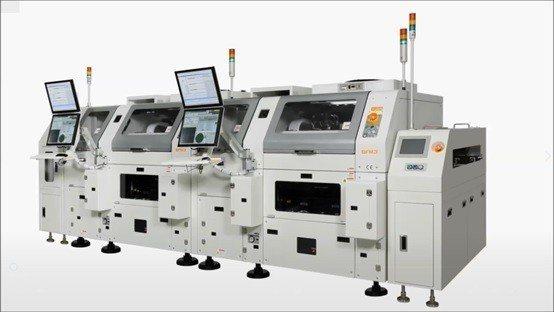 韓華(HANWHA) 覆晶上片機,業界最新世代機種,市場高度期待。