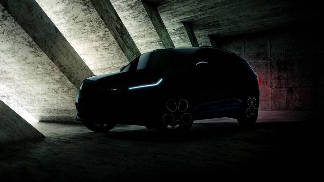 Škoda Kodiaq RS預告照片。 摘自Škoda
