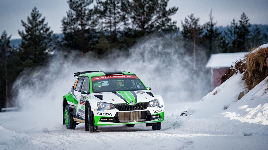 Škoda一直以來都在拉力賽事上有不錯的表現。 摘自Škoda