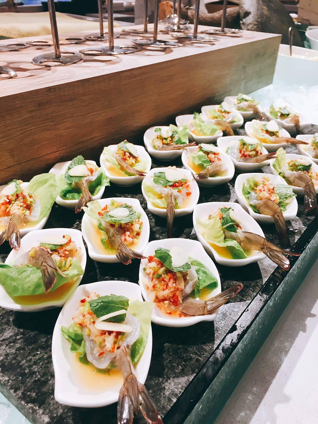 饕客可一次品嘗到多種泰國道地料理。圖/摘自天賜良緣大飯店粉絲專頁