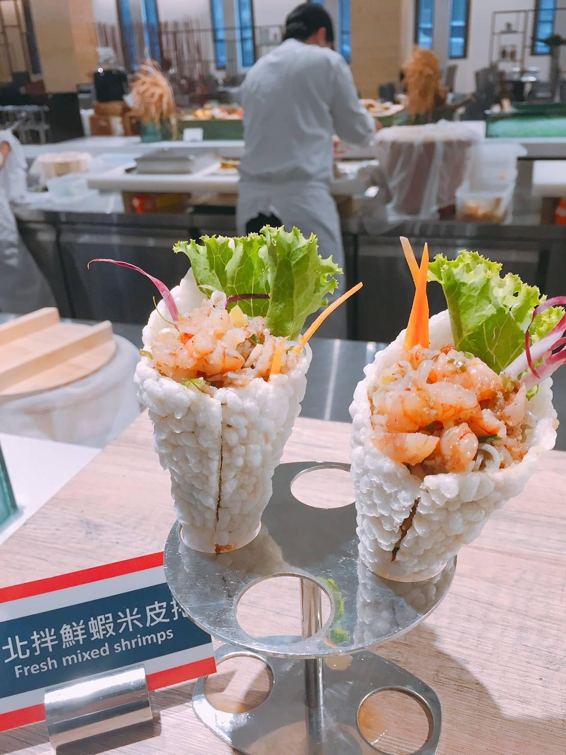 首波南洋泰國美食節,推出20多道泰國蝦料理。圖/摘自天賜良緣大飯店粉絲專頁