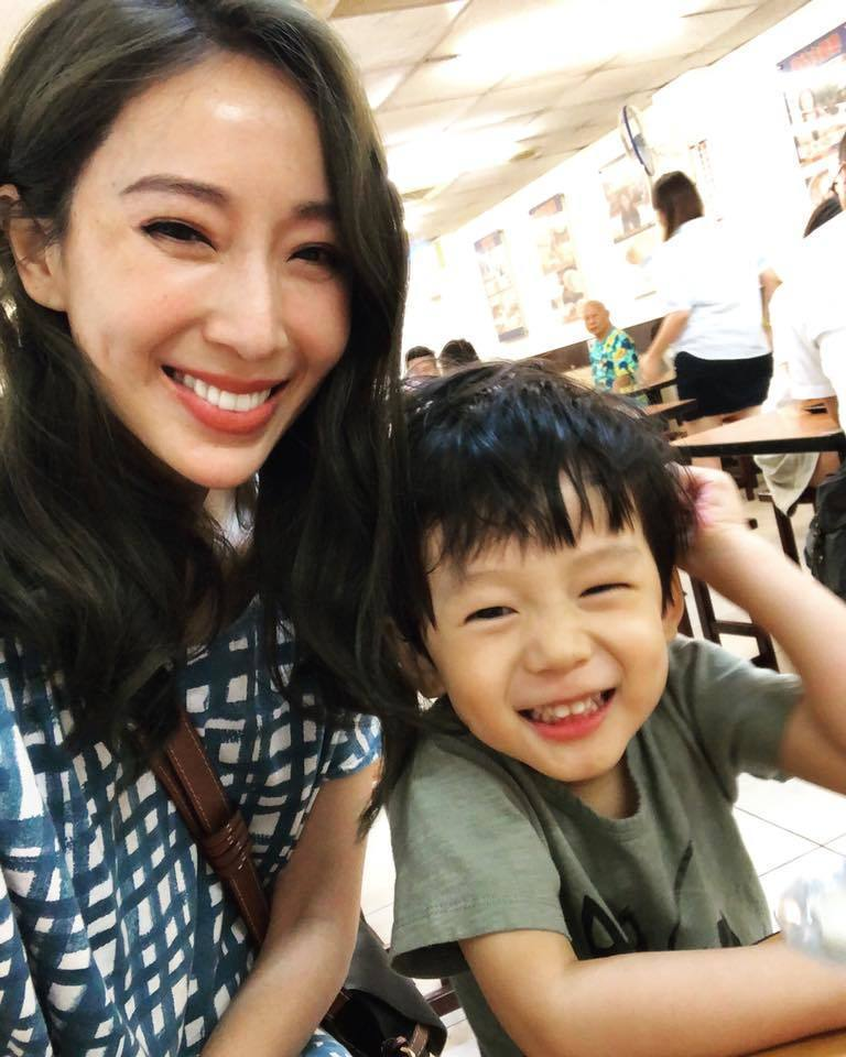 隋棠看得出兒子Max有「老大心結」。圖/摘自臉書