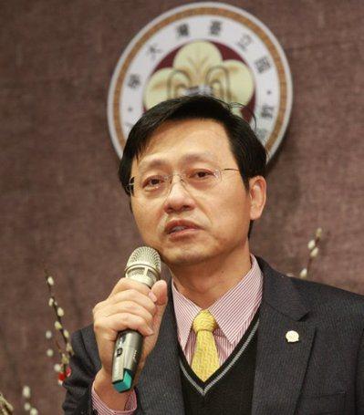 台大代理校長郭大維。 圖/聯合報系資料照片