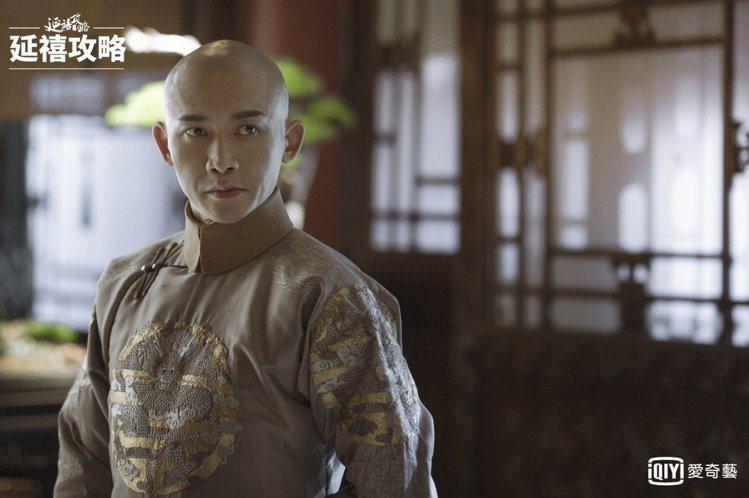 聶遠在《延禧攻略》中飾演乾隆皇帝。圖/愛奇藝台灣站提供