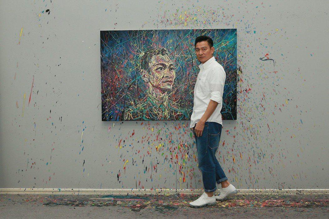 劉德華去年拍攝廣告墜馬傷及骨盆,休養後於年底展開演唱會。圖/台灣映藝提供