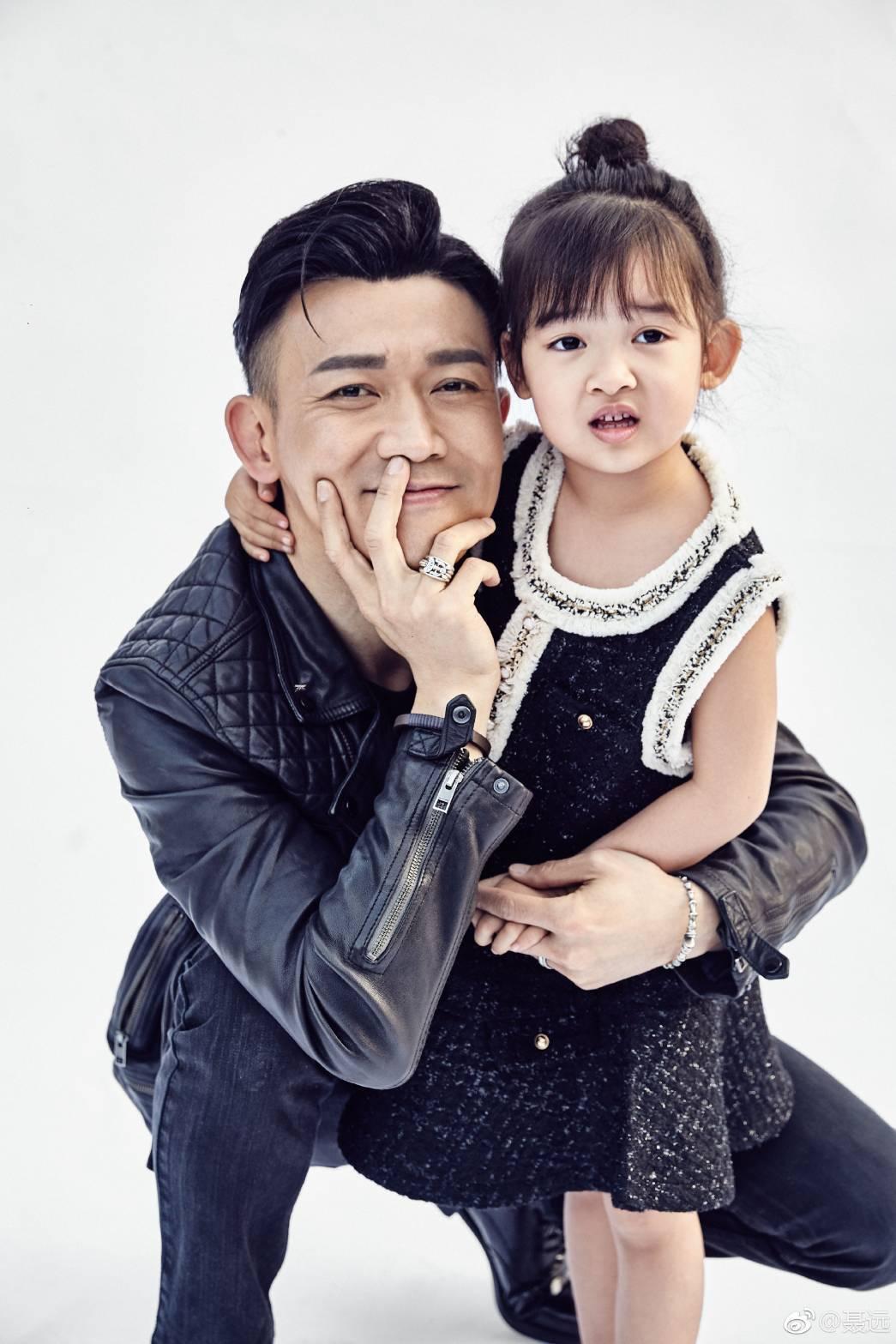 聶遠甘願當「女兒傻瓜」。圖/摘自微博