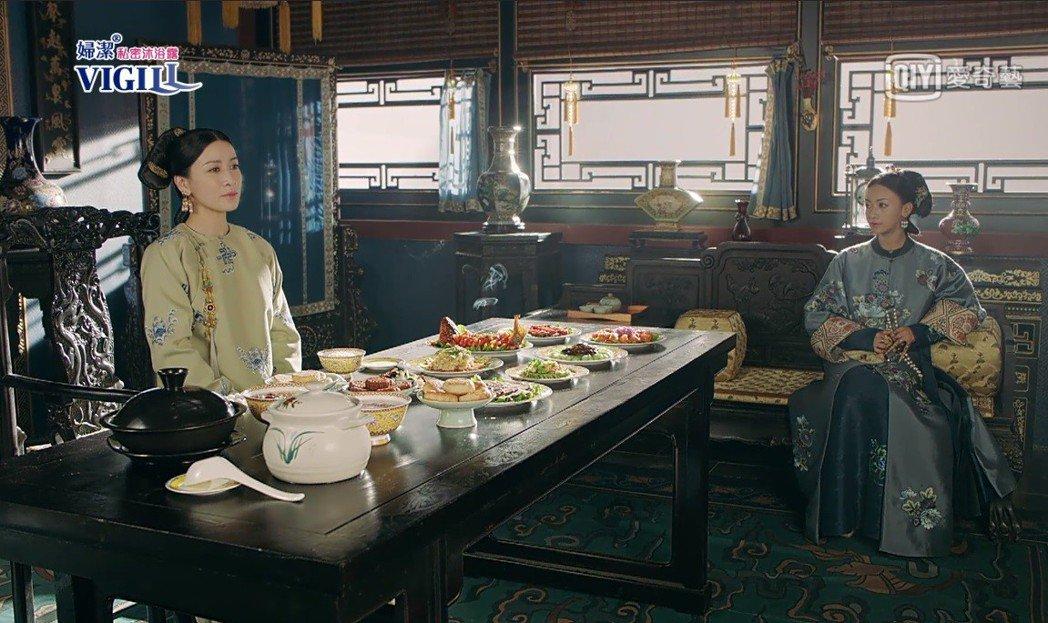 瓔珞最終還是幫皇后求情。圖/截圖自愛奇藝台灣站