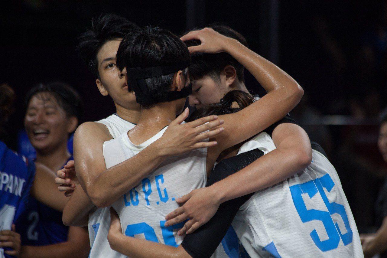 亞運三對三女籃賽,中華隊以14:15不敵泰國,收下第四名。台體實習記者賴琦昀 /...