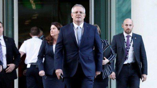莫里森(前)是澳洲11年來第6位總理。 (路透)