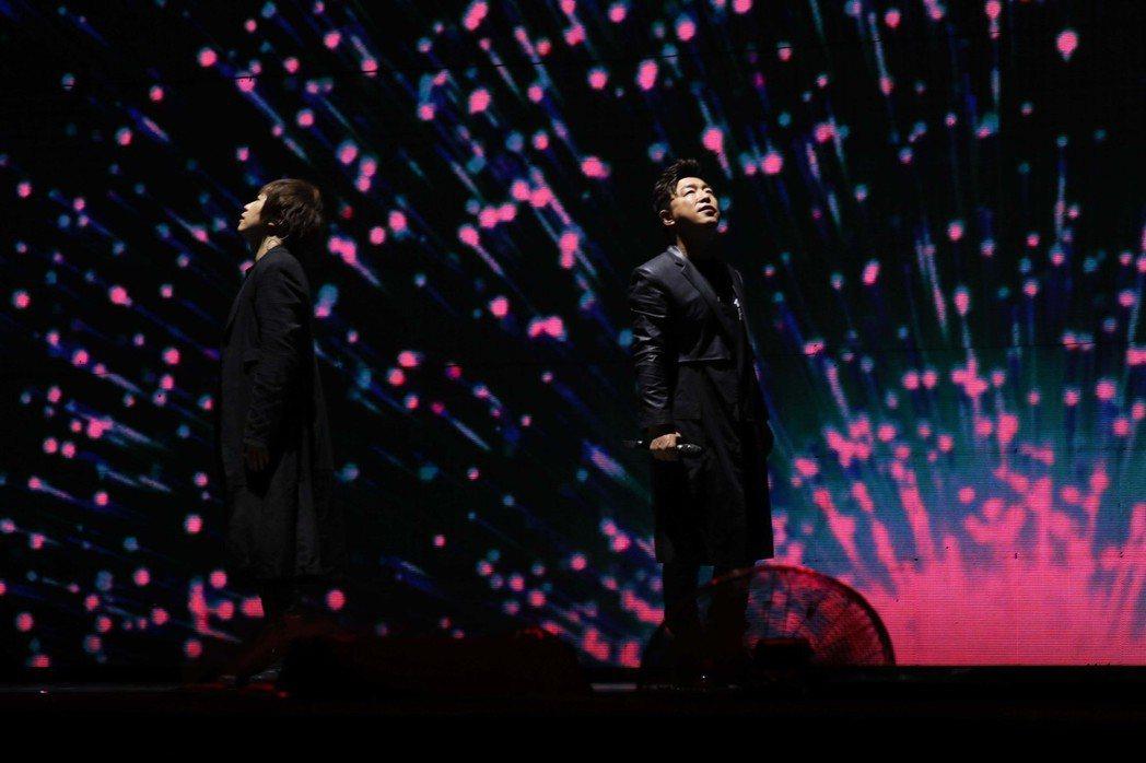 黃渤擔任五月天北京站最後一場嘉賓。 圖/相信音樂提供