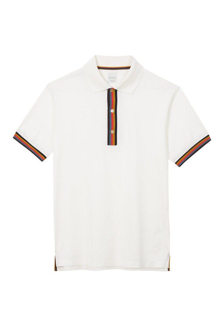 男裝POLO衫,12,800元。圖/Paul Smith提供