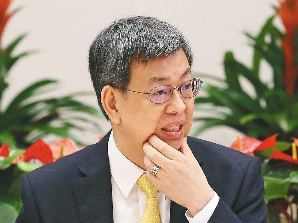副總統陳建仁被爆出全國忙著救災時,他和家人到金門遊玩,他也向國人道歉。 圖/聯合...