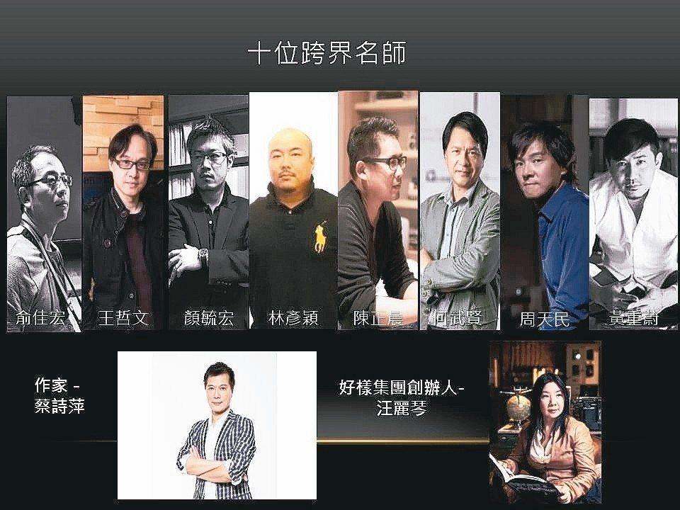 10位跨界名師聯手打造專業室內設計專區。 中國科大設計產學中心/提供