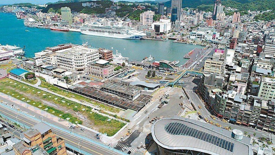 基隆市和新竹縣市房價,近年來逆勢上漲6%至12%。圖為基隆市。 本報系資料庫