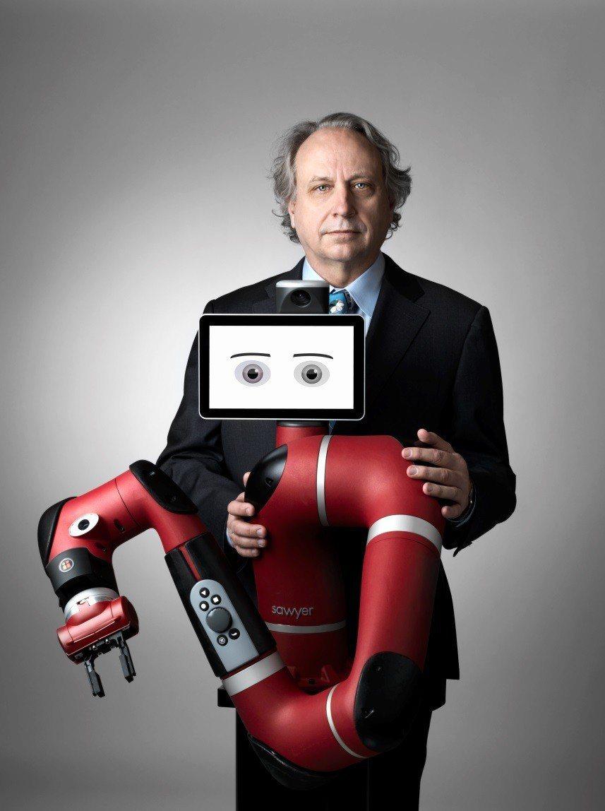 協作機器人先驅美國Rethink Robotics將在台灣正式登場。 圖/電...
