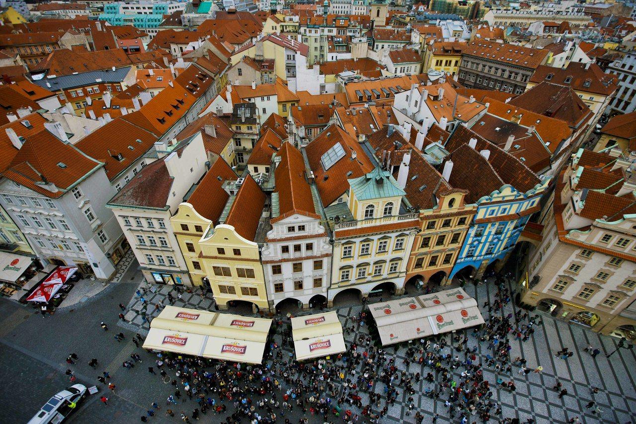 捷克首都布拉格。圖/新華社
