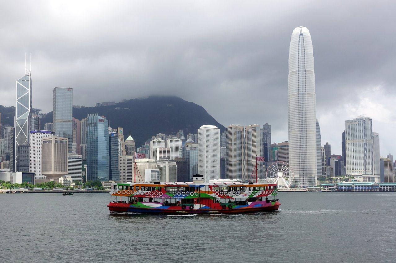 香港維港景色。圖/中新社