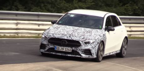 全新級距Mercedes-AMG A35電能混合動力300匹蓄勢待發
