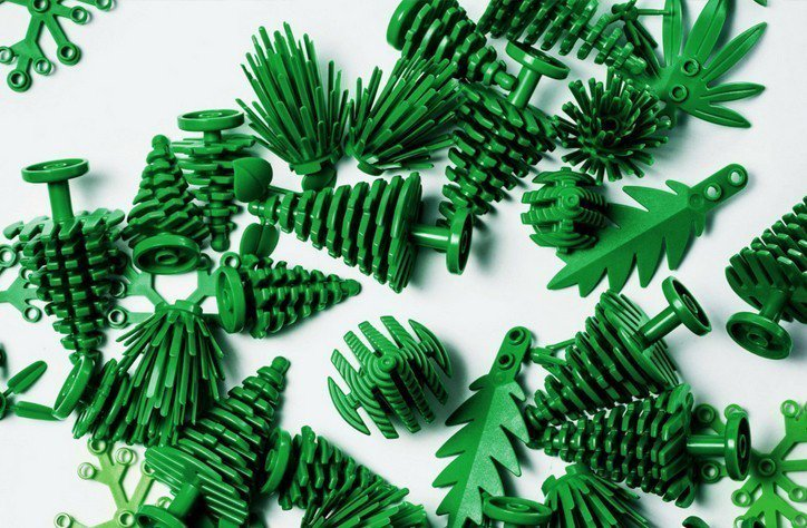 這款環保積木已於今年8月起在部份國家販售,之後樂高還會陸續推出環保的新玩具。圖/...