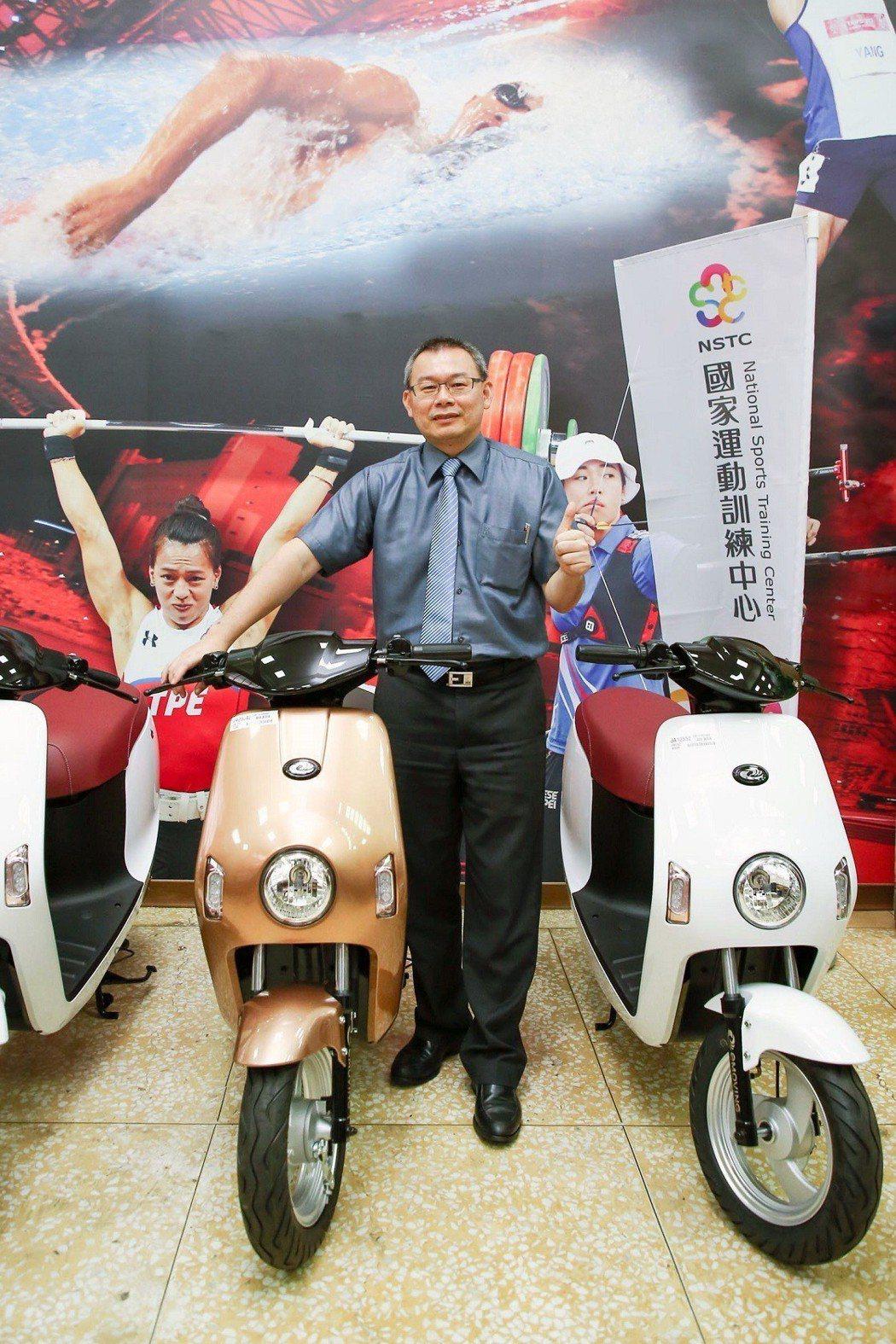 中華電動二輪車營銷部經理黃奕元表示目前已累計要送出47台emoving Shin...