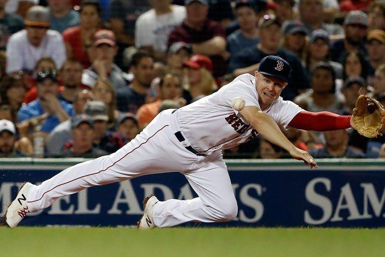 紅襪隊霍特是現役球員中最有名的工具人,除投手和捕手以外,其他位置不論內外野他都能...