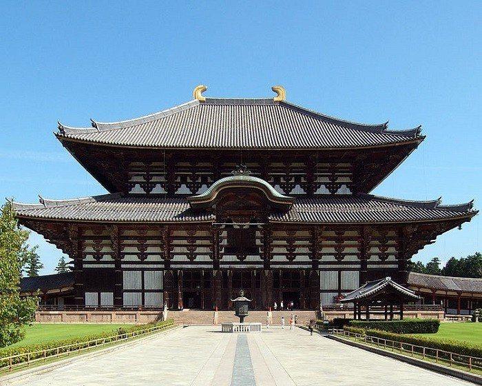 奈良東大寺。 圖/wiki