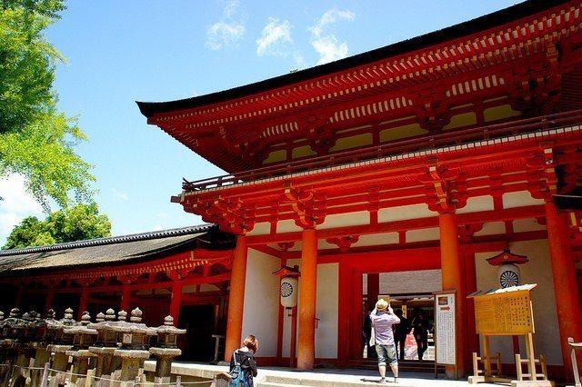 奈良春日大社。 圖/Flickr