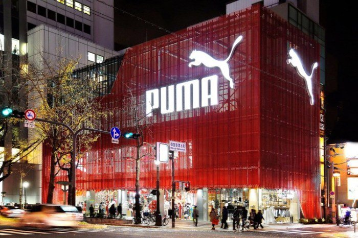 Puma Store Osaka addicted-to-retail.com)