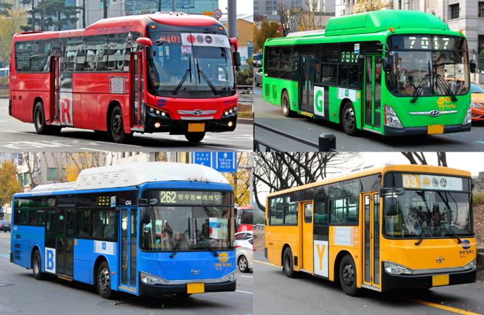 首爾公車。 圖/wiki