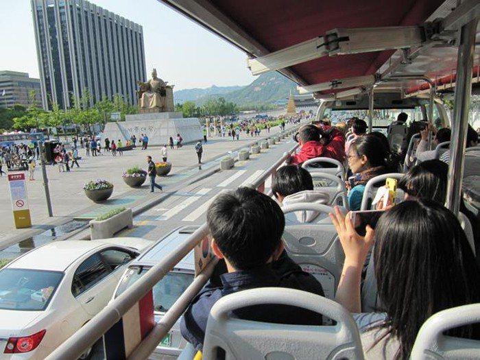 首爾觀光巴士。 圖/韓國觀光公社
