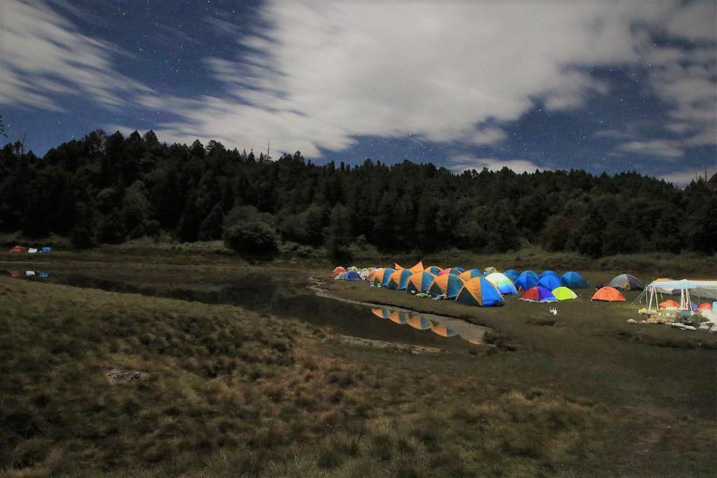 ▲秋季露營區推薦-加羅湖登山露營。(圖/Tripbaa趣吧!亞洲自由行專家)
