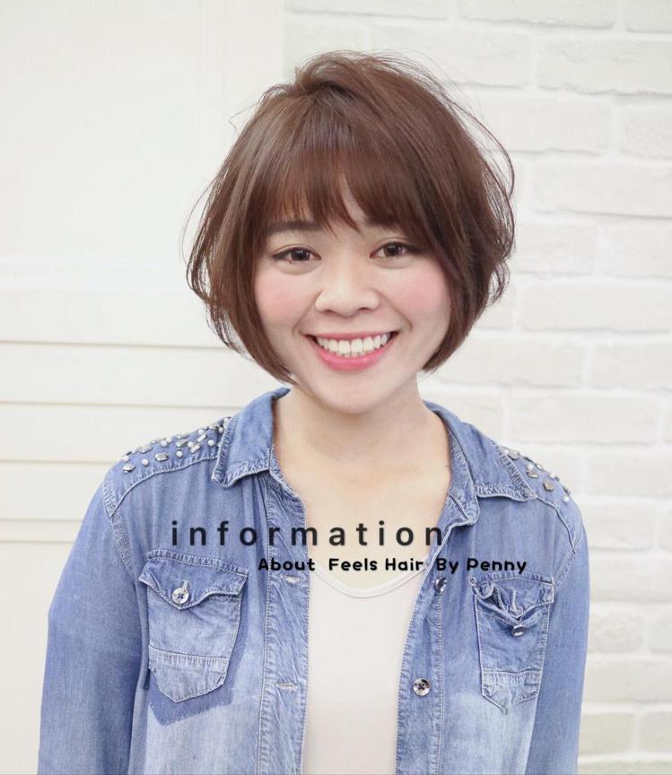 发型创作/Penny Jiun。 图/StyleMap提供