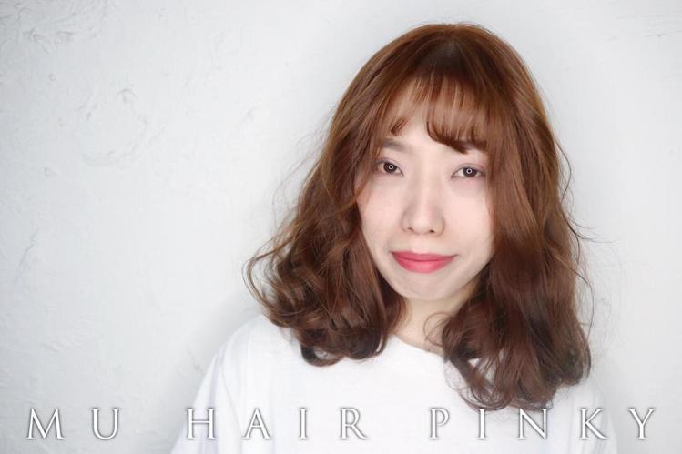 发型创作/Pinky Hsu。 图/StyleMap提供