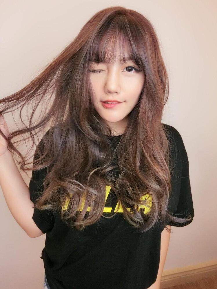发型创作/Ailan Hsu。 图/StyleMap提供