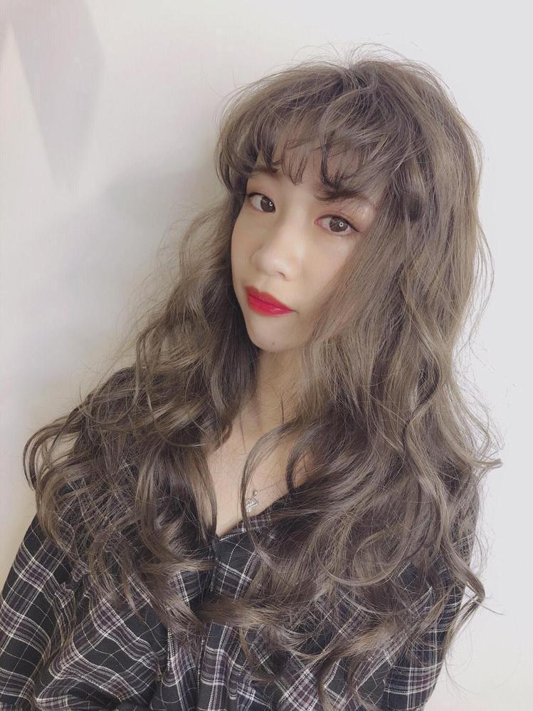 发型创作/Vina Jhan。 图/StyleMap提供