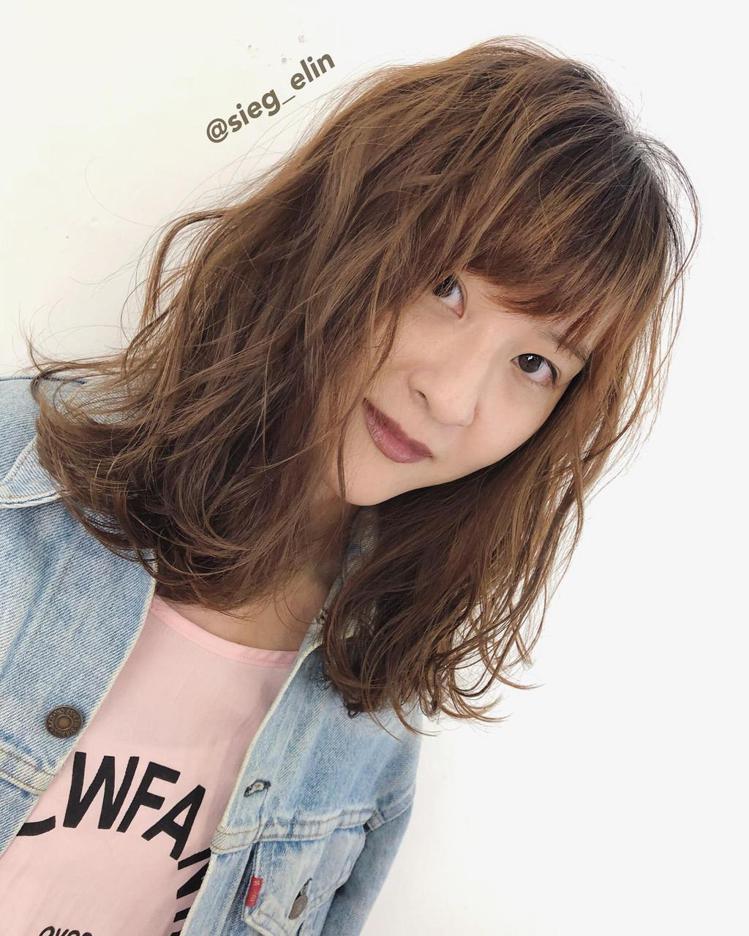 发型创作/ sieg_elin。 图/StyleMap提供